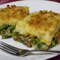 The Mixture - Green Bean, Mashed Potato, Ground Beef Casserole