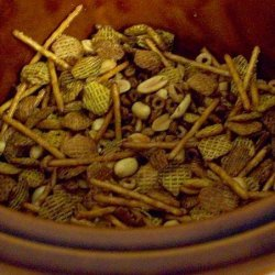 Crock Pot Snack Mix