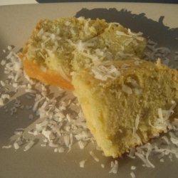 Coconut Pound Cake (Using Coconut Milk)