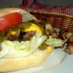 Parmesan Burgers or Burgerdogs