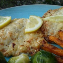 Asiago/Parmesan Tilapia in 20 Minutes or Less!