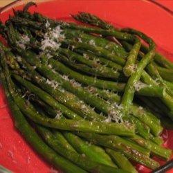 Barefoot Contessa's Parmesan Roasted Asparagus