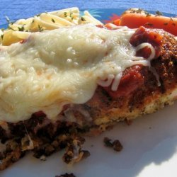 Chicken Breast With Tomato Sauce and Mozzarella