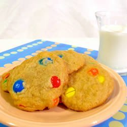 Candy-Coated Milk Chocolate Pieces Cookies II