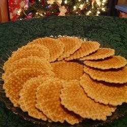 French Cookies (Belgi Galettes)