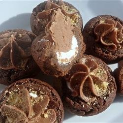 Chocolate Frosted Marshmallow Cookies