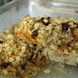 Absolute Best Ovenight Baked Oatmeal