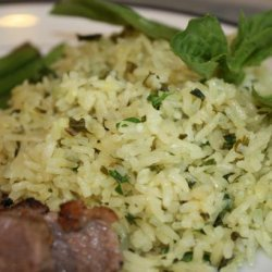 Rice With Onions, Garlic and Herbs