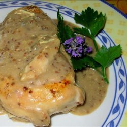 Elegant Lavender and Lemon Poached Chicken Breasts recipe