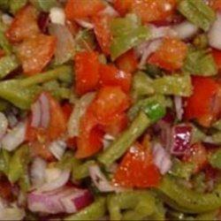 Cactus Paddle Salad/Relish or Ensalada de Nopalitos