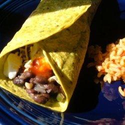 Pass-It-Along Black Bean Burritos