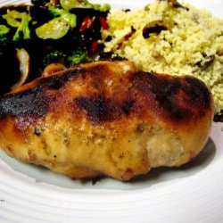Chicken Breasts With Maple-Whiskey Glaze recipe