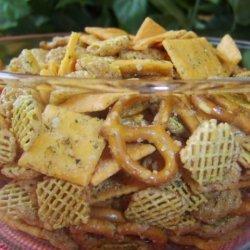 Ranch Snack Mix recipe