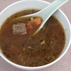Nana's Beef & Barley Stew