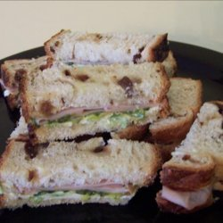 Turkey Tea Sandwiches