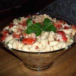 Greek Shrimp Pasta Salad