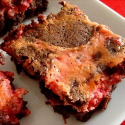 Marbled Cherry Brownies