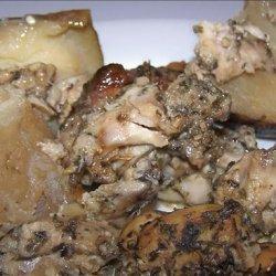 Crock Pot  Chicken - Greek Style