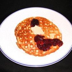Scandinavian Cream Waffles