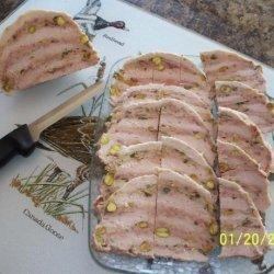 Veal or Chicken Ham and Sausage Bundle ( Feuilleton De Veau) recipe