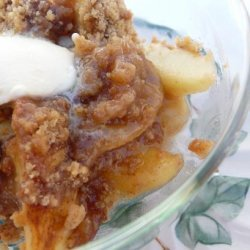 So Easy and Tasty Apple Streusel recipe