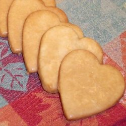Maple Butter Cookies recipe