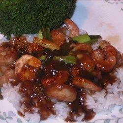 Honey Ginger Shrimp Stir-fry