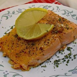Microwave Salmon Fillets recipe