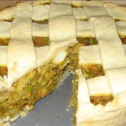 Samosa Pie recipe