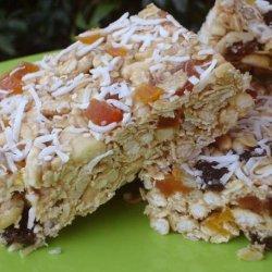 Whole Grain No Bake Granola Bars recipe