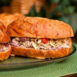 Tuna and Artichoke Panini recipe
