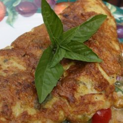 Cilantro, Red Onion and Jalapeno Omelet