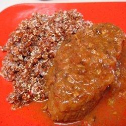 Beef Short Ribs in Cinnamon & Red Wine Sauce