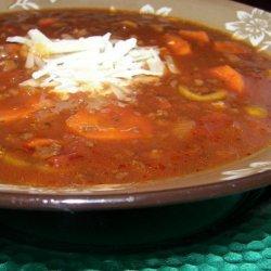 Spanish Hamburger Soup