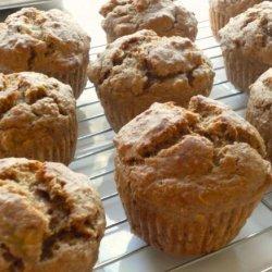 Low-Fat Banana Buttermilk Muffins