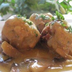 Swedish  meat  Balls With Gravy (Vegan)