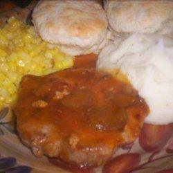 Campbell's Golden Mushroom Soup Pork Chops