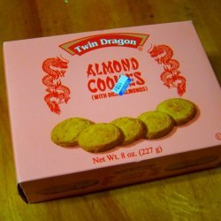 Twin Dragon Almond Cookies
