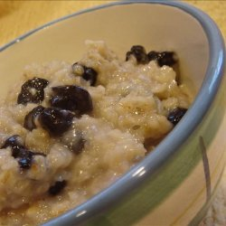 Vanilla Blueberry Oatmeal