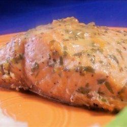 Baked Tarragon Orange Salmon