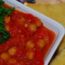 Spicy Tomato Chickpea Stew