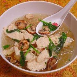 Easy Thai Chicken Noodle Soup