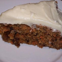 Gluten-Free Coconut Carrot Cake With Cream Cheese Icing