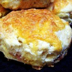 Cheddar and Bacon Buttermilk Scones