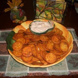 Hot Crackers With Fiesta Dip