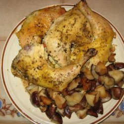 Simple Crock Pot Chicken and Potatoes