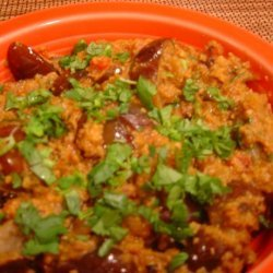South Indian Eggplant (Aubergine) Curry