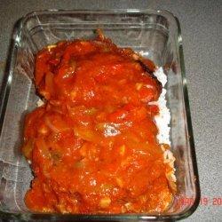 Pork Chops Alla Pizzaiola with Dumplings