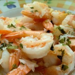 Garlic Prawns in the Microwave