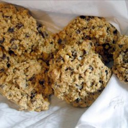 Peanut Butter Oat Chocolate Chip Cookies